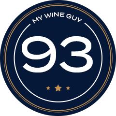 93 Score Badge