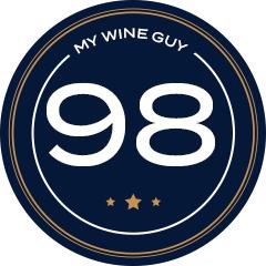 98 Score Badge